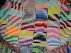 Sparky's Scrap Blanket by Lane Drogato