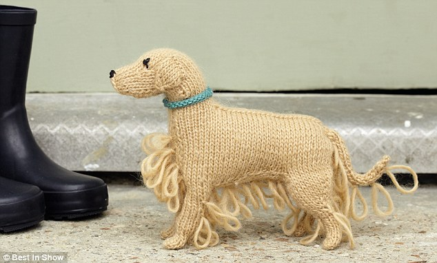 Dog from Knit Your Own Dog by Sally Muir & Joanna Osborne