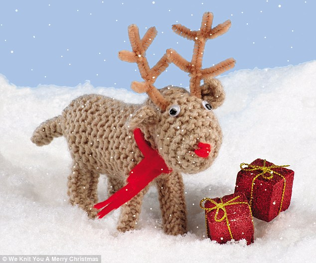 Reindeer from We Knit You A Merry Christmas