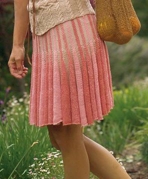Ashley Skirt by Louet Yarns