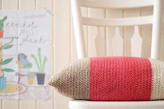 Color Block Cushions by Marinke Slump
