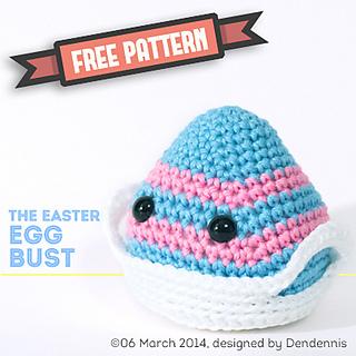 Easter Egg Bust by Dennis van dan Brink