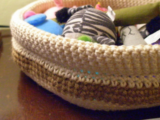 Kitty Stuff Basket by Chase Clark