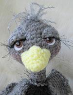 Teri Crews Designs - Simply Cute Ostrich
