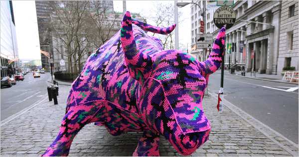 International Yarn Bombing Day!