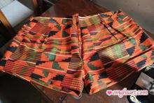 African Print Shorts