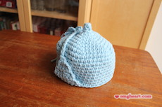 Crochet Baby Hat with Earflap