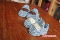 Crochet Baby Moccasin