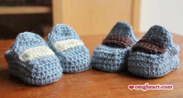 Baby Moccasin Crochet