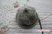 Baby Hat - Almost done