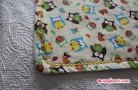 Simple Blanket - Owl Blanket in Cotton Flannel