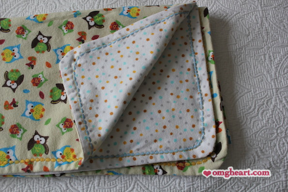 How-To: Simple Baby Blanket