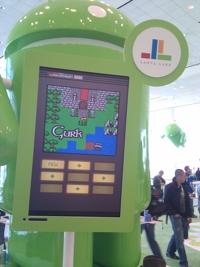 Gurk II at Google I/O 2011
