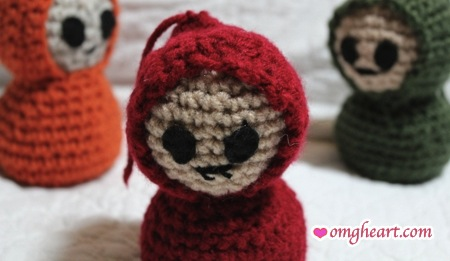 Crochet Critters by The Mad Scientist and OMG! Heart