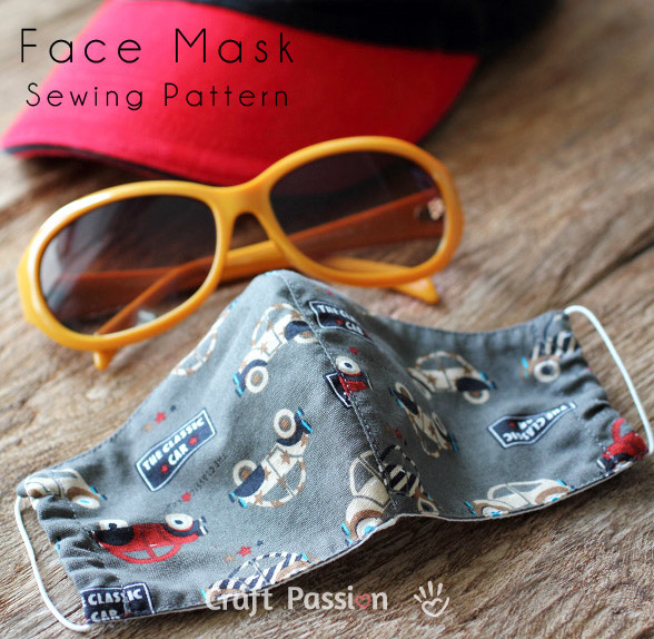 Countoured Face Mask by Craft Passion