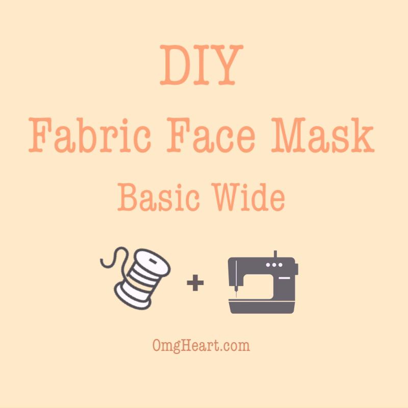 DIY: Face Mask #3 Basic Wide