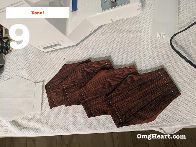 Cut and Sew - Thread Elastics - Done!