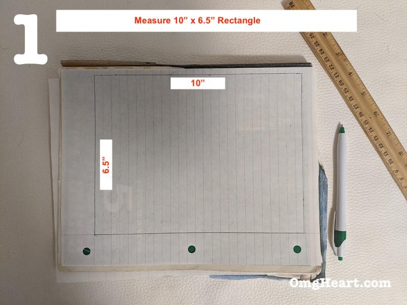 Create Template - Measure and Cut