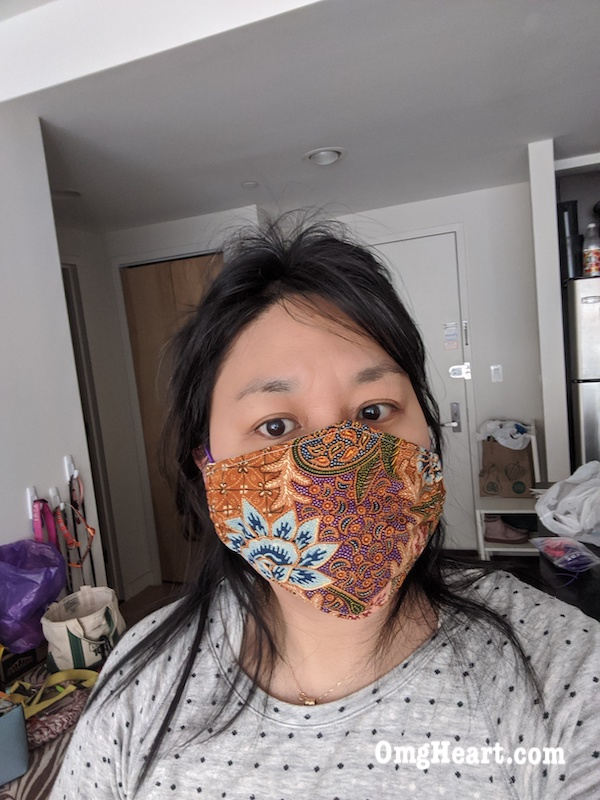 Cut and Sew Basic Face Mask