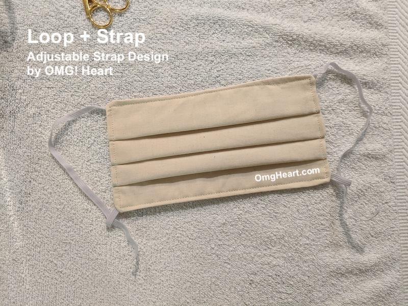 Adjustable Strap Design by OmgHeart.com