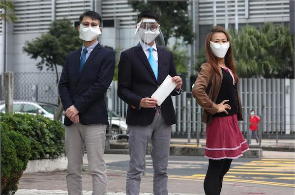 3 Face Masks by South China Morning Post