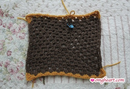 Sample Swatch of Boho Tote