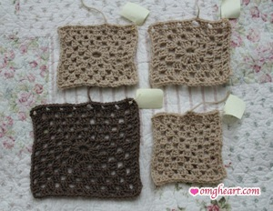 Granny Squares and Granny Rectangles