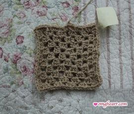 Traditional Granny Square - In Half Double Crochet
