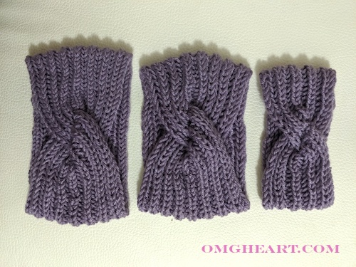 Pattern: Knitted Headband with Twist