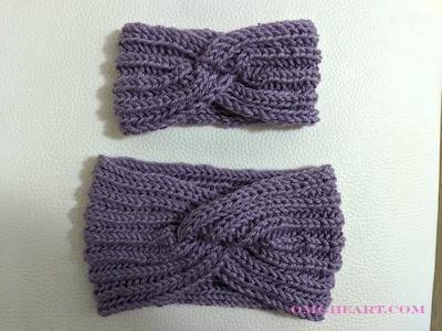 Headbands in English Rib