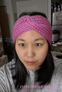 Headband in English Rib