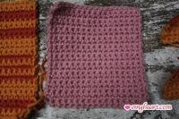 Crochet Samples in Single Crochet