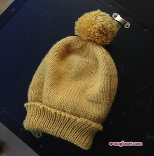 Ski Hat with Pompom