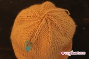 Ski Hat with Giant Pompom
