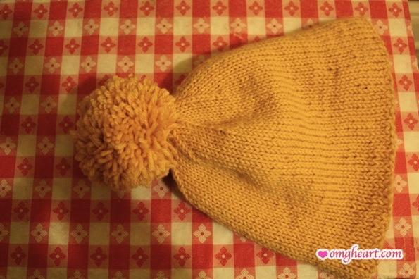 Pattern: Ski Hat With Giant Pompom