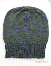 Size and shape of the hat after blocking