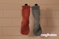 Toe Up Socks - Two at a Time