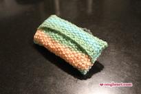 Knitted Pocket Tissue Holder