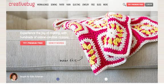 Creative Bug: Knitting School Online