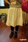 Alvinna's Skirt - Gathered Skirt by Simplicity #2286