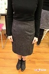 Jennifer's Skirt - Pencil Skirt. I feel like she got a wonderful fit for her skirt.