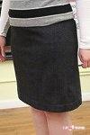 Shana's Skirt - Pencil Skirt. Lovely fabric too!