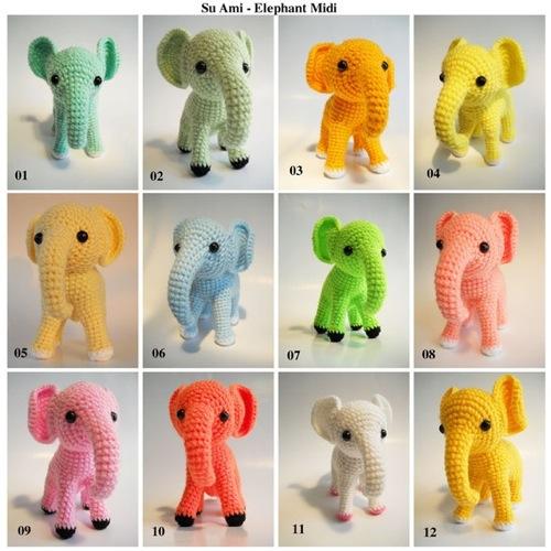 Elephant Series by Su Ami