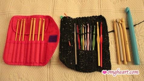Crochet Hooks - Clover Takumi, Boye Aluminum