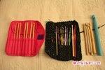 Crochet Hooks - Crochet Hook Sets - Clover Takumi, Boye; Crystal Palace, Boye Size Q