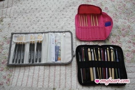 My Crochet Hooks - Etimo Set, Clover Takumi Set, Boye Aluminum Set