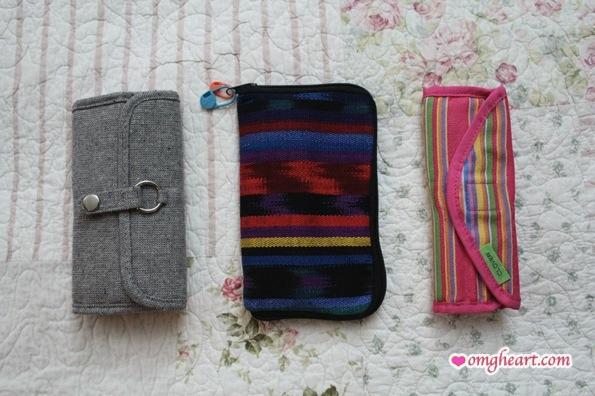 Crochet Hook Sets - Etimo Set, Boye Set (in Totorganizer Pouch), Clover Takumi Set