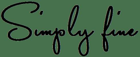 Simply fine Logo