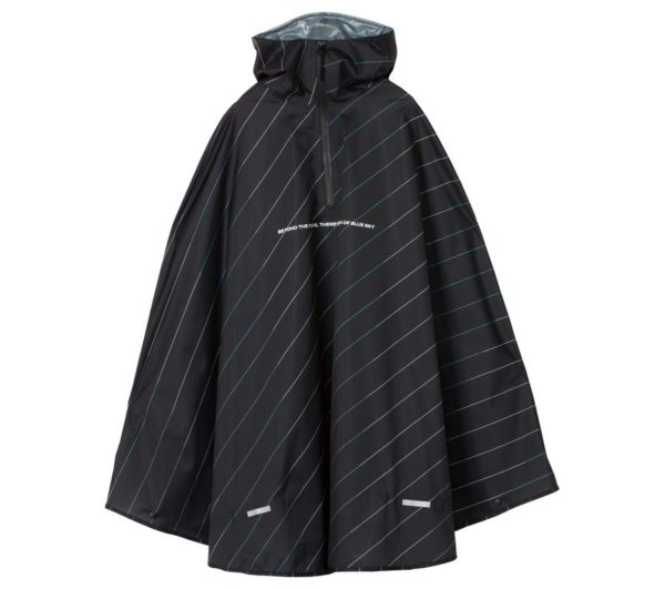 RAIN BICYCLE PONCHO-DOUBLE COLOR BIAS