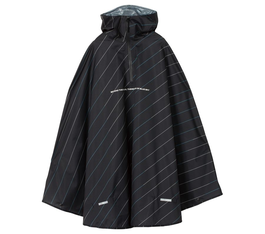 RAIN BICYCLE PONCHO-DOUBLE COLOR BIAS画像1